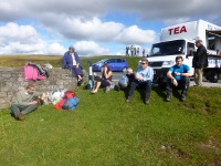 A welcome break at checkpoint 1