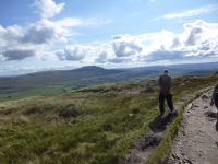 Summit of Whernside looking toward Inglebrough