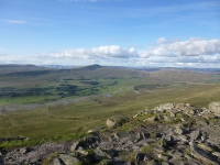 Looking back at Whernside from Inglebrough